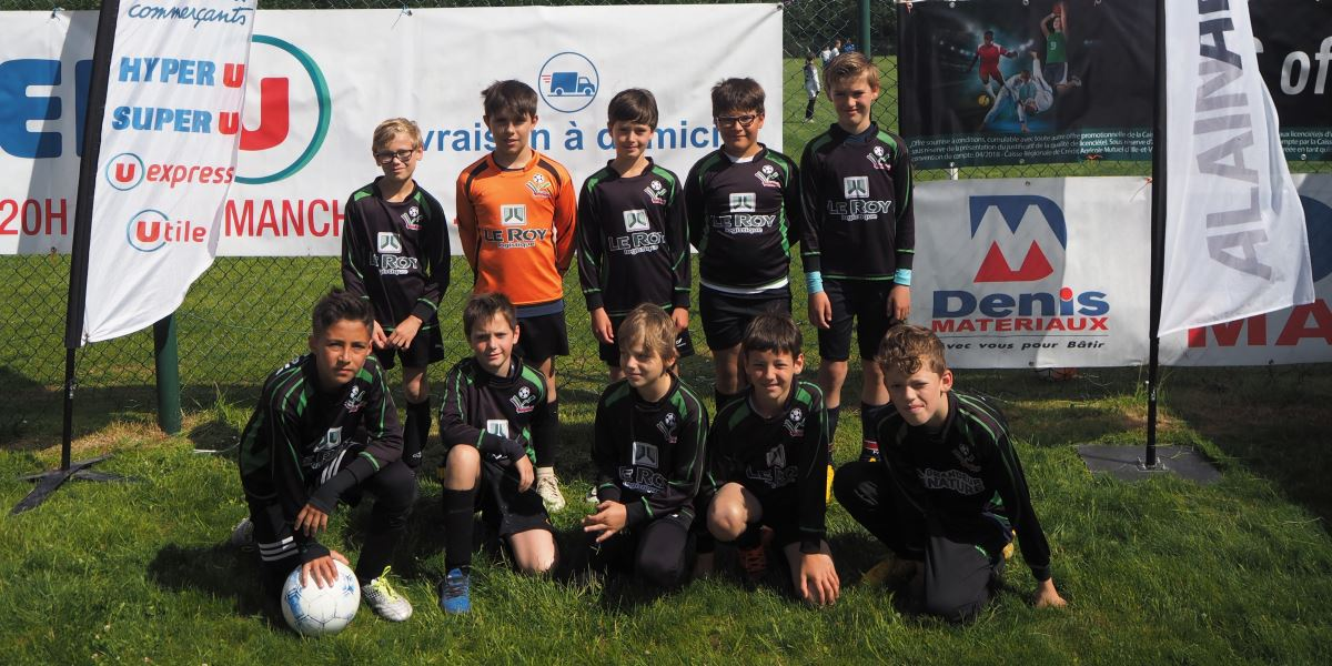 Tournoi U11 2019 FC Guichen - US Bel Air 1